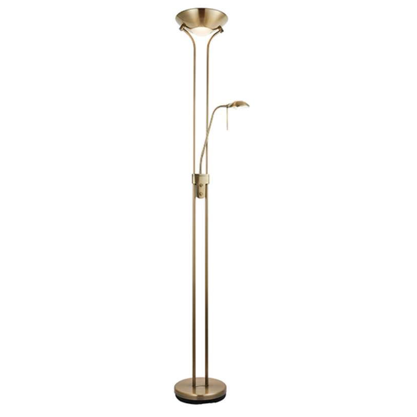 Different Finishes Mother & Child Floor Lamp