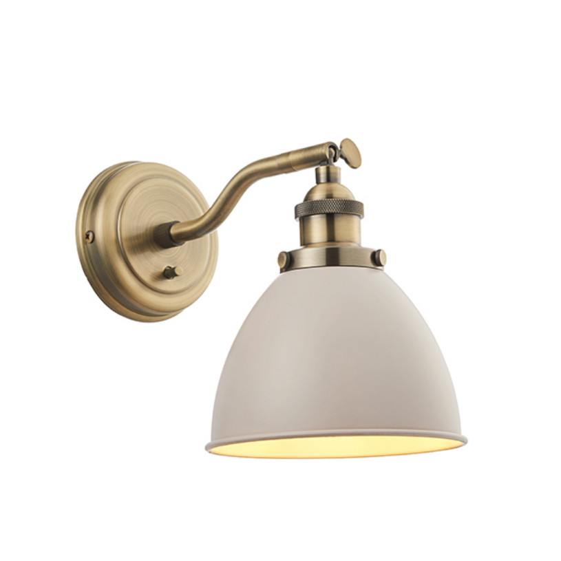 Taupe Wall Lamp