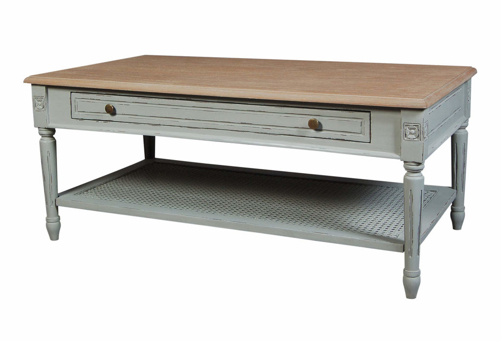 Valerie Stone Grey Coffee Table