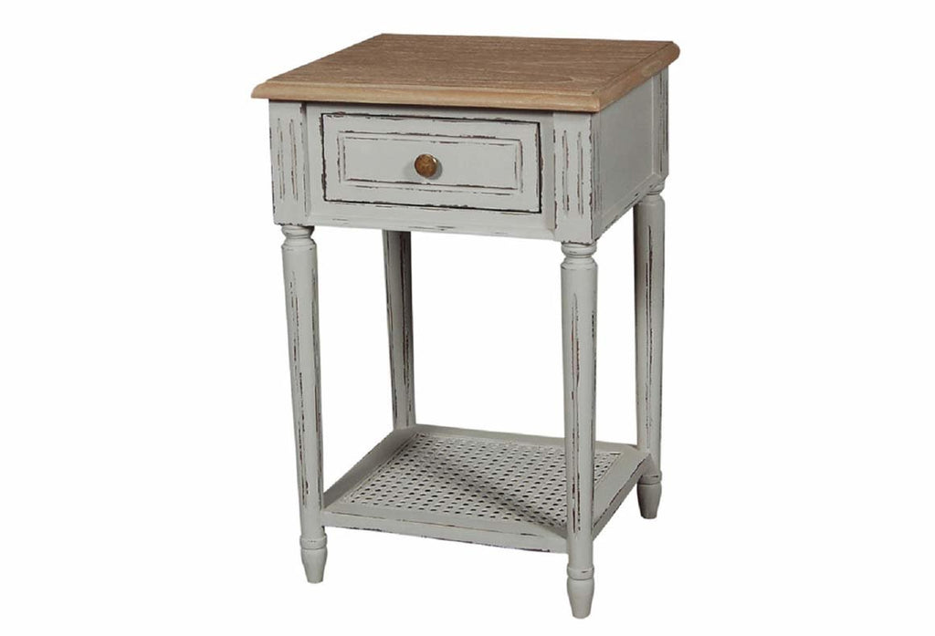 Valerie Stone Grey Side Table