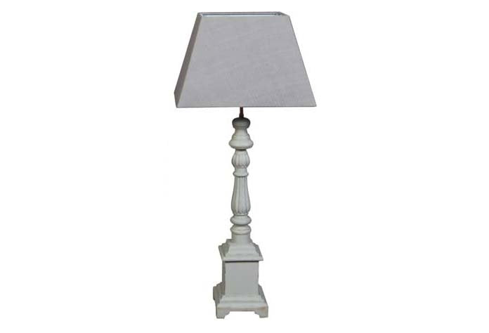 Valerie Stone Grey Lamp