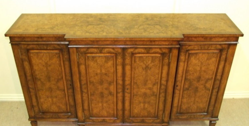 4 Door Walnut Sideboard