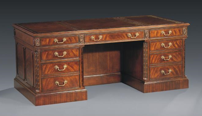 Grand Mahogany Desk