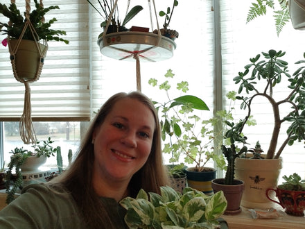 Water & Light Plant Shop's The Plant PeopleⓇ Blog talks to Liz from New Jersey