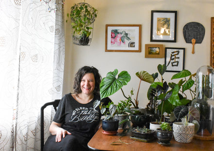 Water & Light Plant Shop's The Plant PeopleⓇ Blog talks to Naomi from Portland