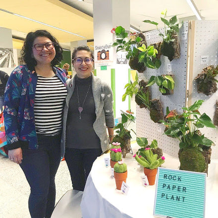 Water & Light Plant Shop's The Plant PeopleⓇ Blog talks to Alicia and Cielo from DC