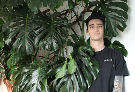Water & Light Plant Shop's The Plant PeopleⓇ Blog talks to Jesse from Calgary