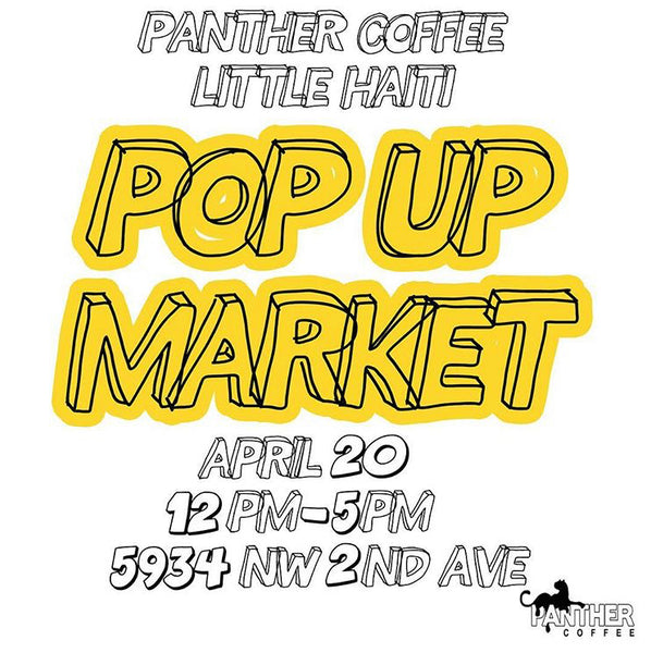 HELLO MIAMI! JOIN US AT PANTHER COFFEE IN LITTLE HAITI TOMORROW✌️