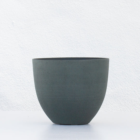FOREST GREEN COMPOSITE PLANTER