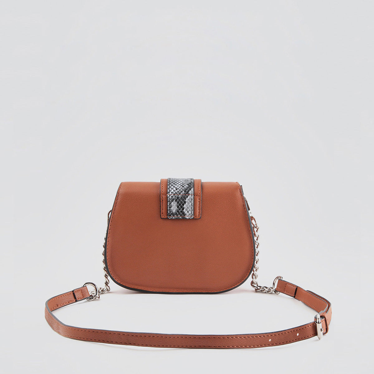 Snaky shoulder bag