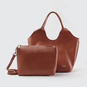 Livia shopper handbag with inside bag