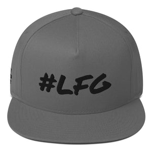 #LFG Black Logo, Snap Back