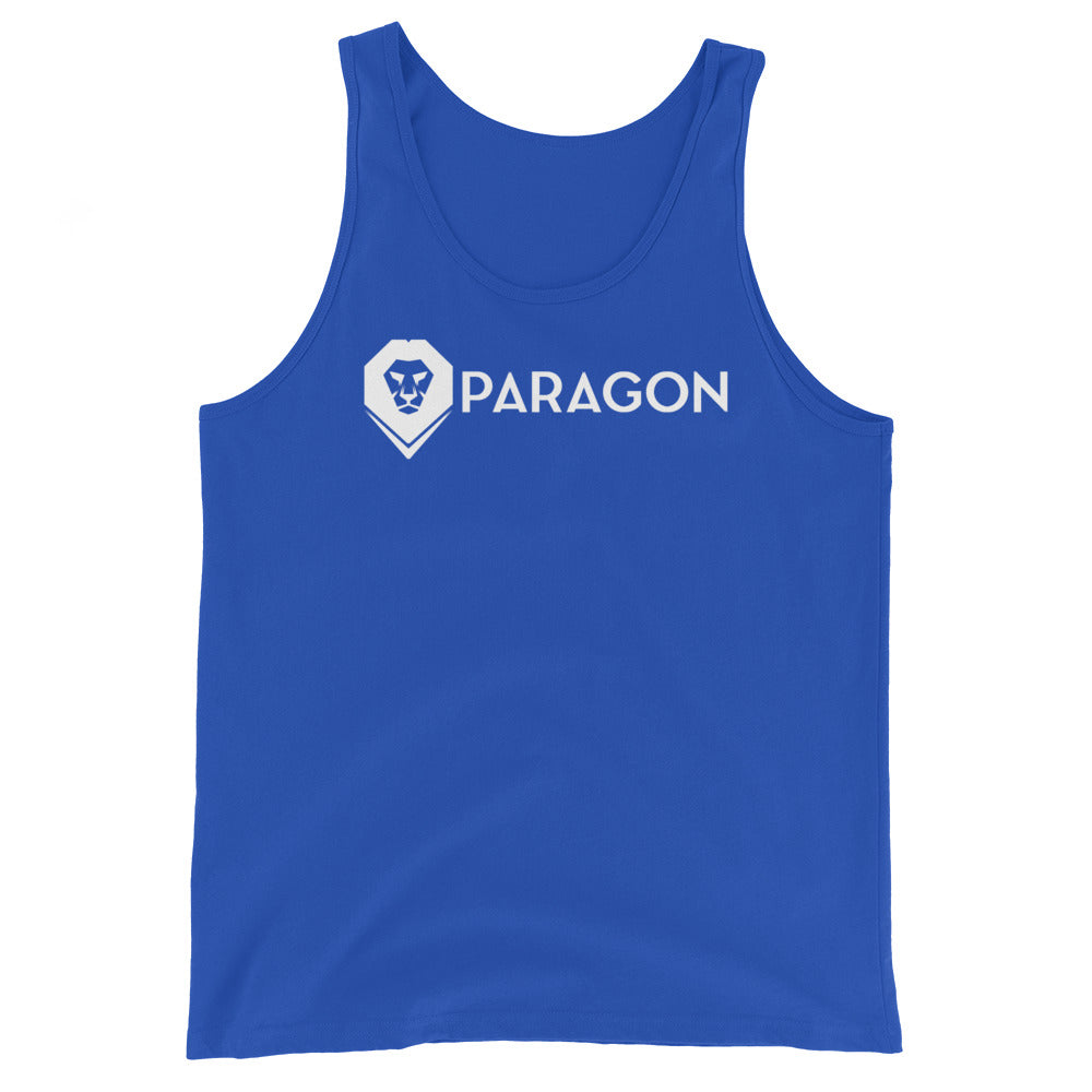 Paragon White Logo, Tank Top