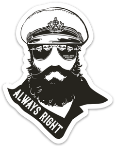 """ALWAYS RIGHT"" 