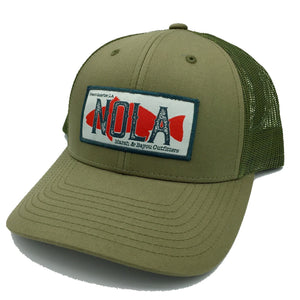 Marsh & Bayou Outfitters NOLA Patch Hat | Loden