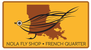 Louisiana Fly | Decal