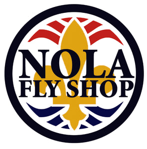 NOLA Fly Shop Circle | Decal