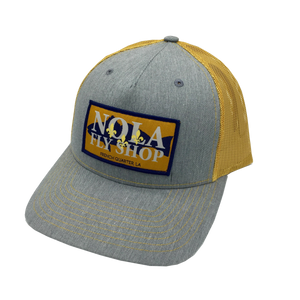 NOLA Fly Shop Patch Hat | Amber