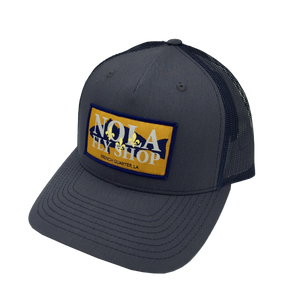 NOLA Fly Shop Patch Hat | Navy