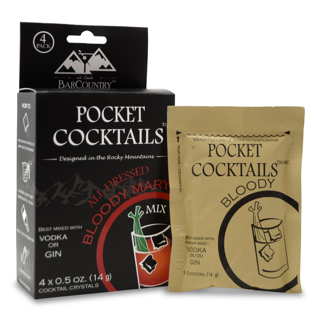 Pocket Coctails | Bloody Mary