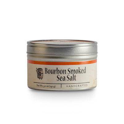 Bourbon Smoked Ses Salt 2 oz. Tin
