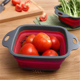 Folding colander™ - PASSOIRE EXTENSIBLE 2 PCS/LOT