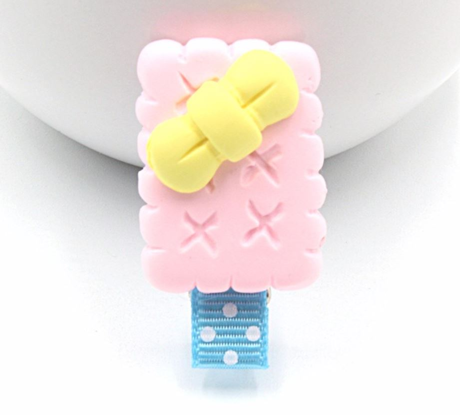 Ice cream bar hair clip (Handmade)