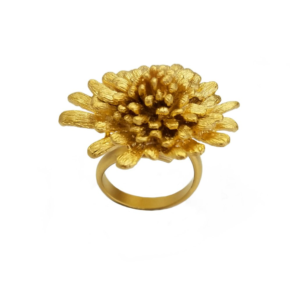 Iseul Daisy Ring Gold