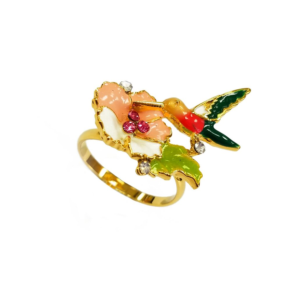 Min-seo Humming Bird Yellowhead Ring