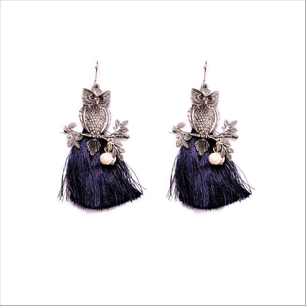 Nigh Owls Earrings