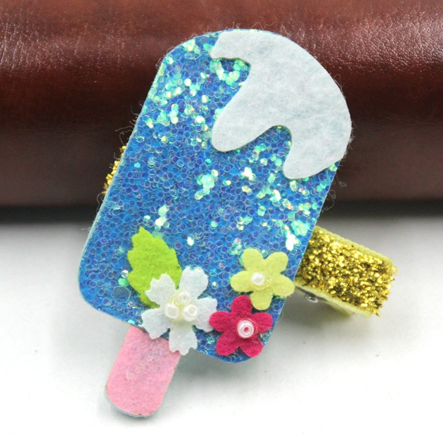 blue ice cream bar (Handmade)