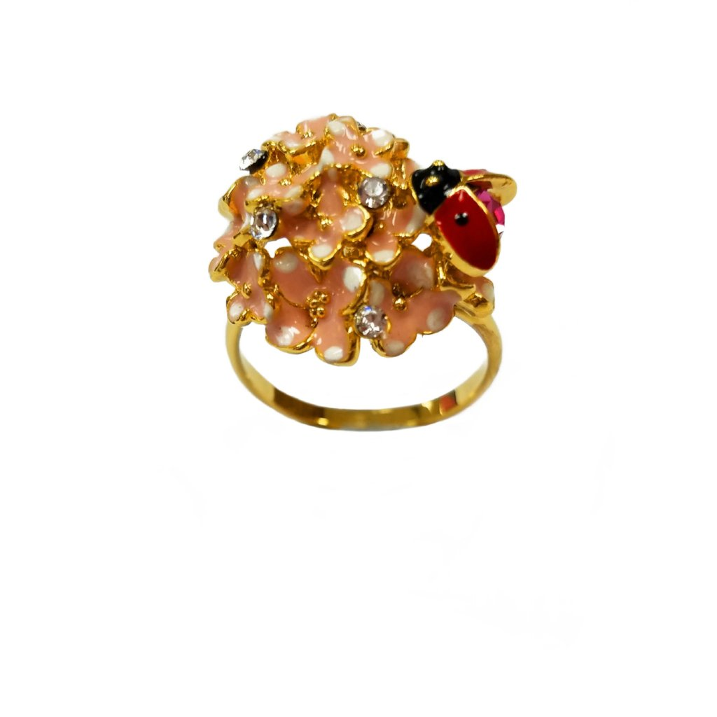 Ring Flower Lady Bug