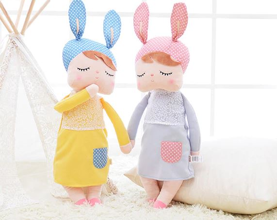 Cute Doll with Bunny Ears (Large)