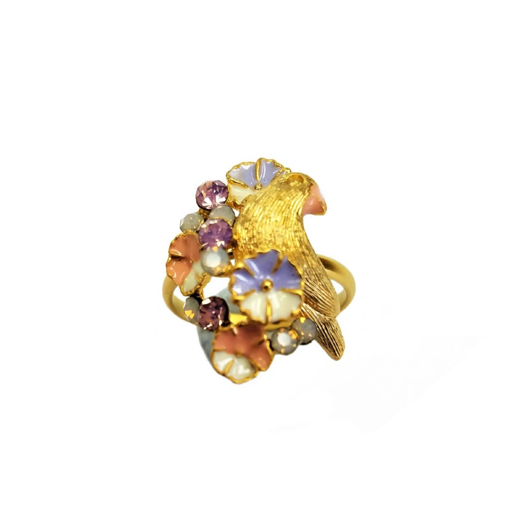 Yeong Anginuse Bird Ring Gold