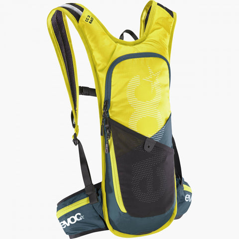 EVOC Cross Country 3L Race + 2L Bladder - Black / Sulphur