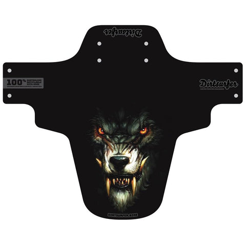 Dirtsurfer MTB Mudguard - The Werewolf