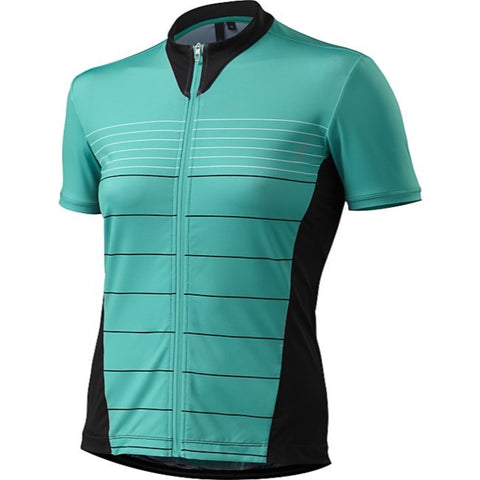 Womens RBX Comp Jersey - Emerald Green -XSmall