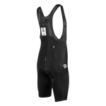 Attaquer Race Bib Short Black Reflective - White Logo