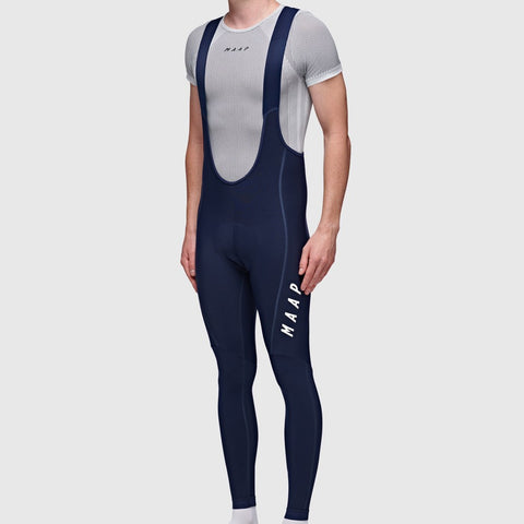 MAAP Team Thermal Long Bib - Navy