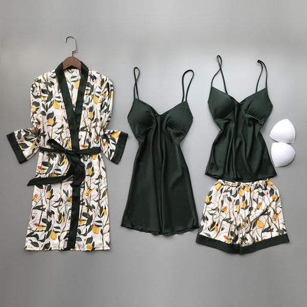 Silk Pajamas Sets