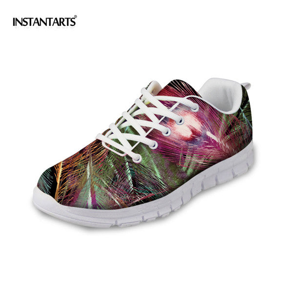 Peacock Feather Sneakers