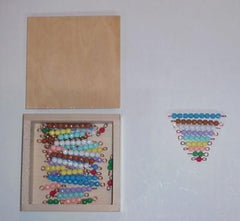Box with 10 Bead Stairs 1-9