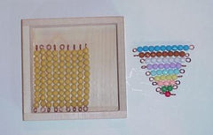 Box with Bead Stair and 9 Tens