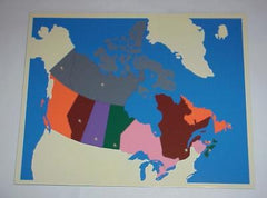 Puzzle Map of Canada