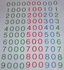 Large Number cards 0-9000