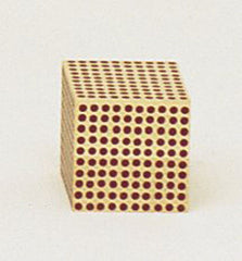 Wooden Thousand (cube)