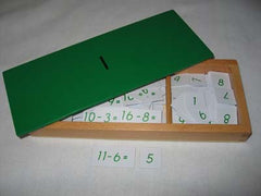 Subtraction equations & differences with box