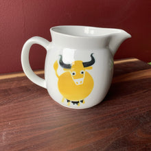 Kaj Franck/ Arabia Finland yellow bull pitcher