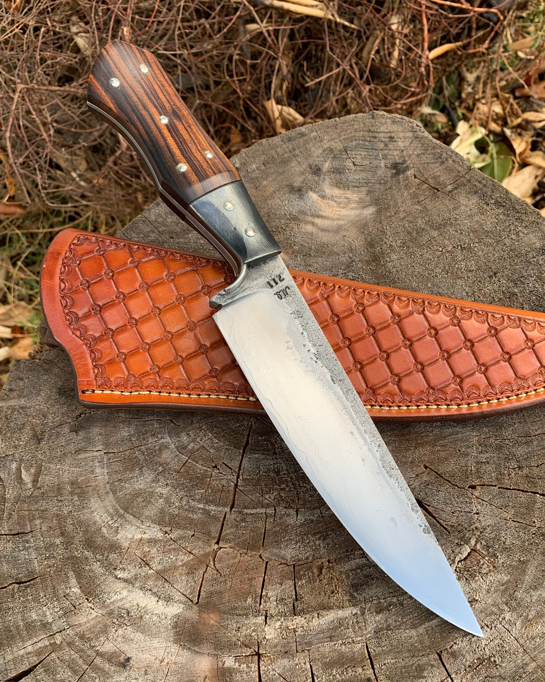 Wilburn Forge camp knife