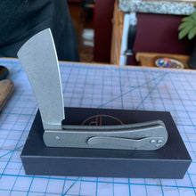 Serge Knife Co. titanium slip joint cleaver